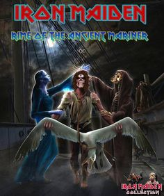 Rime of the ancient mariner - Iron Maiden