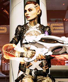Mass Effect 3 - Jack with a Venom Shotgun