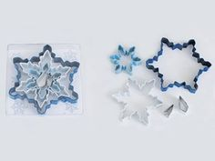 R and M International 1885 5-Piece Color Snowflake Cookie Cutter Set >>> Don't get left behind, see this great product : Baking Accessories