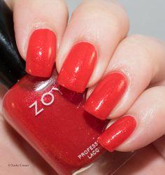 Lacky Corner: ABC Challenge - Z = Zoya Aphrodite