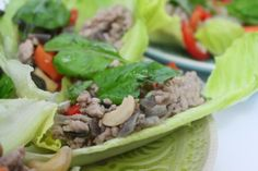 More than Words: Thai Larb Salad Larb Salad, Thai Larb, Eating Clean, More Than Words, Ethnic Recipes, Food, Eat Healthy, Essen, Meals