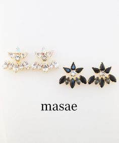 【masae】BIJOUX COLLECTION PETALS EAR JACKET #シータ・ミュー