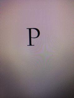 Letter R  Schreef