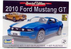 Revell 2010 Ford Mustang GT 4272 1/25 Plastic Model Car Kit