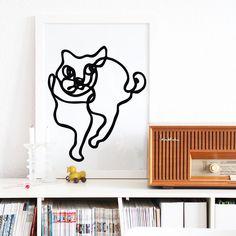 Snug Studio Loves Cats Print, €19.90
