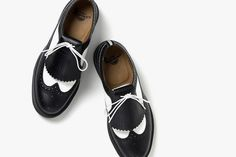 Fred Perry x Dr.Martens 2012 Spring/Summer Quilt Wingtip