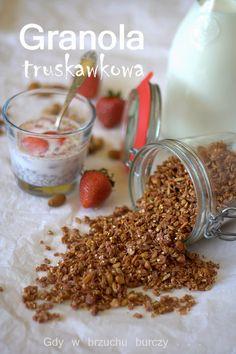 Granola truskawkowa