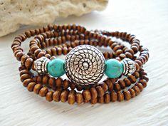 Yoga Bracelet  Boho Jewellery  Boho Bracelet  by HandcraftedYoga, $27.00