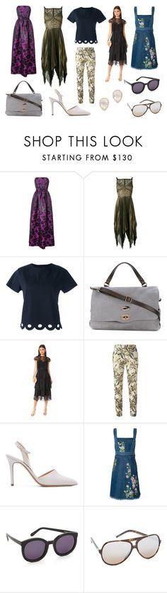"""""""Awesome Style"""" by donna-wang1 ❤ liked on Polyvore featuring Carolina Herrera, Elie Saab, Chinti and Parker, Zanellato, Parker, Christian Pellizzari, Antonio Barbato, Alexander McQueen, Karen Walker and Marc Jacobs"""