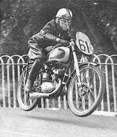 TT. Ballaugh Bridge ~ there's not enough motorcycle racers smoking while racing!