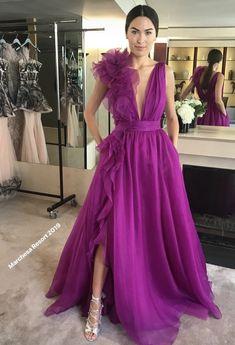 A Line Prom Dresses, Tulle Prom Dress, I Dress, Party Dress, Couture Dresses, Fashion Dresses, Elegant Dresses, Formal Dresses, Looks Chic