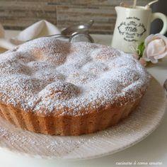 torta frolla della nonna ripiena di mele Great Desserts, Low Carb Desserts, Pizza, Biscotti, Cake Business, Low Carb Bread, Bakery Recipes, Low Carb Breakfast, Apple Recipes