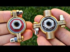 DIY Fidget Toy | Hand Spinner Model 6&7  | Hardware Store Items Easy To Make For Beginners - YouTube
