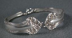 Antique Silverware Bracelet c.1847  Size 7  1016 by studiovdesigns, $29.00