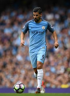 Nolito of Manchester City during the Premier League match between Manchester City and West Ham at Etihad Stadium on August 28 2016 in Manchester...