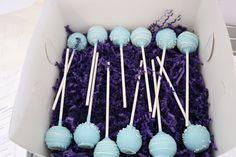 Assorted Box of Blue Cake Pops | San Diego Cake Pop Shop