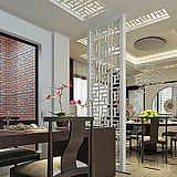 Cut off hollow carved off the entrance of Chinese MDF grillwork plaid backdrop customized flower- board Specials