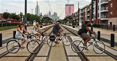Rent a bike with Charlotte NC Tours! A bike is the best way to explore Charlotte. We offer various bikes to meet your needs and have a mechanic on staff. Book now! Planning Budget, Charlotte Nc, Mountain Biking, Bicycle, Meet, Tours, Explore, Architecture, Arquitetura