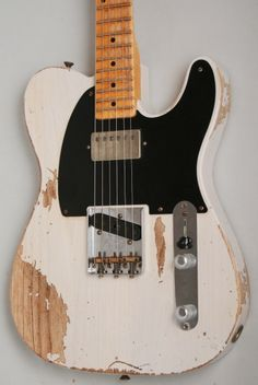 The #Fender Custom Shop '52 Fat #Telecaster What a beaut! £2599