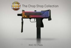 Counter-Strike Global Offensive: The Chop Shop Collection: MAC-10 Fade