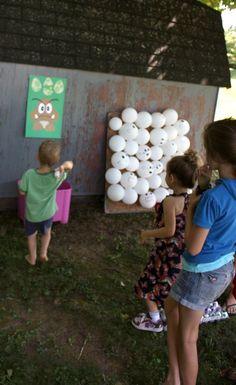 egg toss/ghost pop games