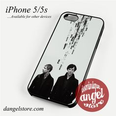 Sherlock & Dr Watson Phone case for iPhone 4/4s/5/5c/5s/6/6s/6 plus