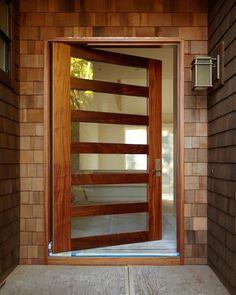 Pivot Door Company: Online Shopping for Semi-Custom Pivot Entry Doors Home Interior Design, Exterior Design, Interior Paint, Contemporary Front Doors, Double Vitrage, Pivot Doors, Front Door Design, Entrance Doors, Doorway
