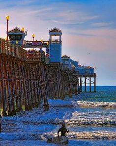 Oceanside pier by Brenda Romero photograpghy