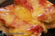 Kipróbált Gyümölcsös-sonkás csirkemell recept egyenesen a Receptneked.hu…