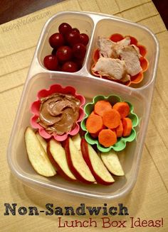 For kids or for you... send them to school with the same lunch YOU pack for work!