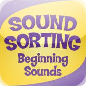 Sound Sorting Beginning Sounds:  This looks like a great deal for 99 cents.  It should be a fun way to learn and it is compatible with iphone, ipad, and even itouch (with iOS 3.2 or later).  I'll give it a whirl.