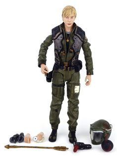 "Battlestar Galactica Viper Pilot KARA STARBUCK THRACE 7"" Series 2 Action Figure #DiamondSelect"
