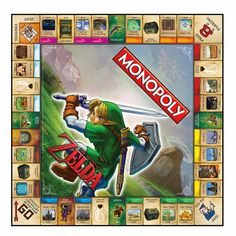 Official Legend of Zelda Monopoly Board Game Unveiled For $40