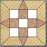 Grandmother's Choice Quilt Block 2 Tutorial