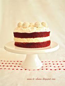 Helena's Kitchen: Red Velvet Cheesecake (Simple Love - 简单爱)