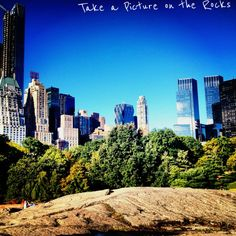 Rocks of Central Park - 99 Different Things To Do in Central Park