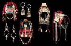Akha woman's headdress and jewelry