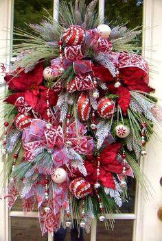 Floral wreath Christmas