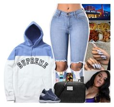 """"""""""" by kennisha84 ❤ liked on Polyvore featuring Sache, Casetify, Happy Plugs, Victoria's Secret, Tzumi, M.A.C, MICHAEL Michael Kors and NIKE"""