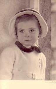 Princesse Johanna de Hesse (1936-1939) fille de George Donatus, grand-Duc héritier de Hesse et la princesse Cécilie de Grèce et de Danemark