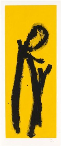 Robert Motherwell, Yellow Chord