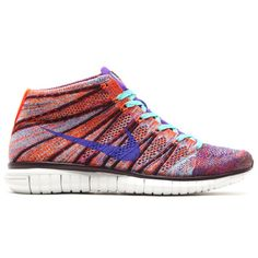 Trendy Ideas For Womens Sneakers : Nike Free Flyknit Chukka WMNS Hyper Crimson / Hyper Grape Deep Burgundy Sneakers Mode, Best Sneakers, High Top Sneakers, White Sneakers, Shoes Sneakers, Nike Fashion, Sneakers Fashion, Fashion Shoes, Fashion Trends