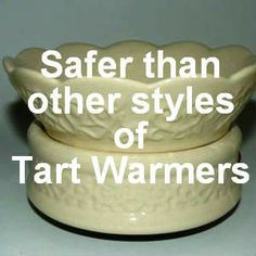 An electric tart warmer is the safest style available, make your home more inviting with the wonderful fragrance they provide.