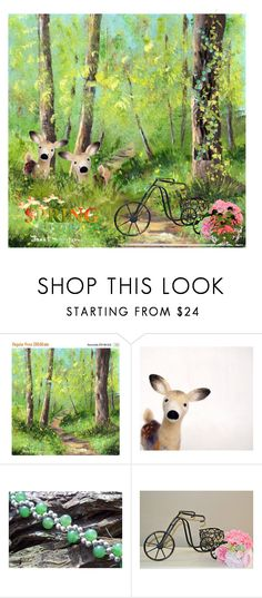 """Spring Finds!"" by cravecute ❤ liked on Polyvore featuring interior, interiors, interior design, home, home decor and interior decorating"