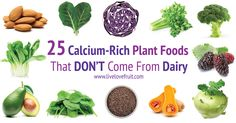 25 Calcium-Rich Plant Foods That DON'T Come From Dairy!