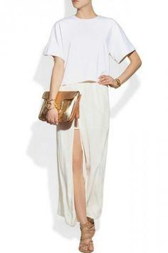 Maje Cardinsky crepe maxi skirt (net-a-porter.com)