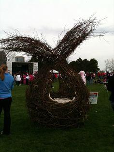MIAD Student Sculpture - 2013 Making Strides Against Breast Cancer Milwaukee #StridesMilwaukee #MoreBirthdays #StridesMKE