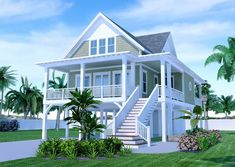 The Sandpiper Cottage is offered by SDC House Plans. View more Coastal House Plans on the SDC website. Beach House Floor Plans, Coastal House Plans, Cottage Floor Plans, Cottage House Plans, Craftsman House Plans, Country House Plans, Coastal Cottage, Cottage Homes, Coastal Style