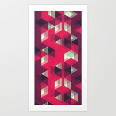 Delicious  Art Print by VessDSign - $16.00