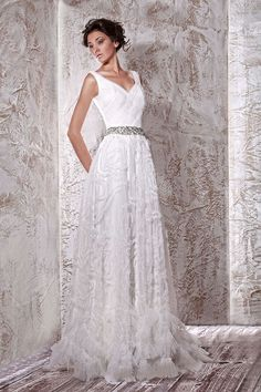 david webb wedding dress